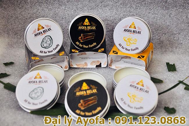 Cao thảo mộc Ayofa Relax với 4 mùi hương