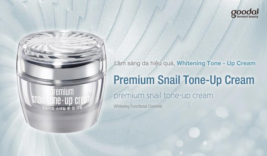 Kem Goodal Premium Snail Tone Up Cream